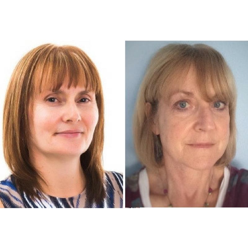 Carole Francis-Smith and Kate Dunn