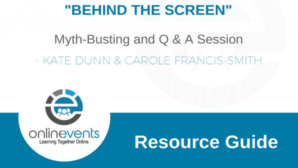 Behind the Screen - Myth Busting and Q&A