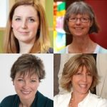 Hannah Datema, Bridget Wilkins, Elaine Patterson, & Karyn Prentice
